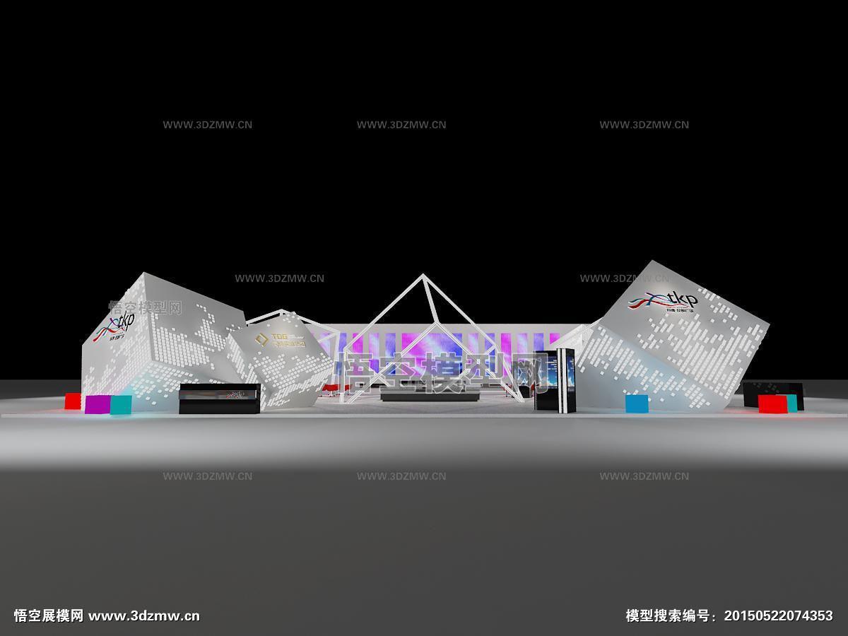 首页 展台模型 房交会 地产展  面积(单位米) 开口方向 模型风格 3d